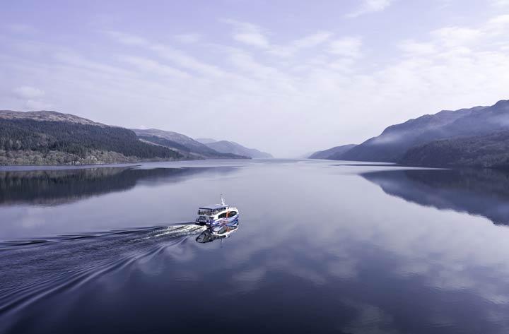 Bootstour auf Loch Ness