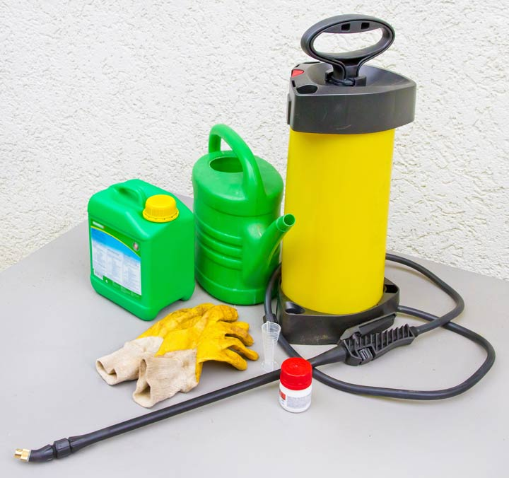 Chemische Pflanzenschutzmittel
