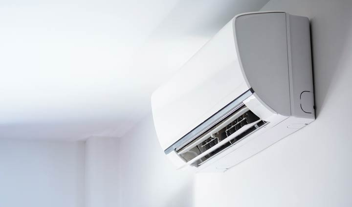 Klimaanlage an Wand