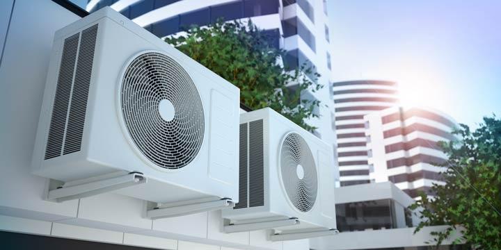Klimaanlage im Außenbereich