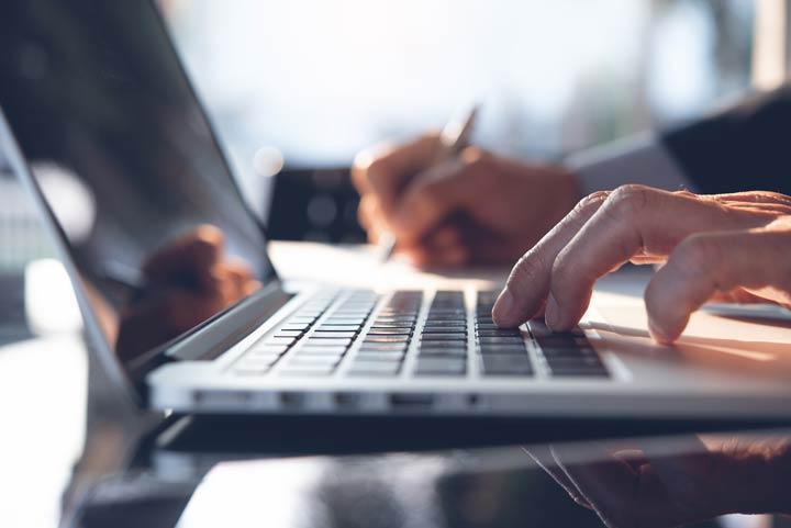 Portal für die Jobsuche finden